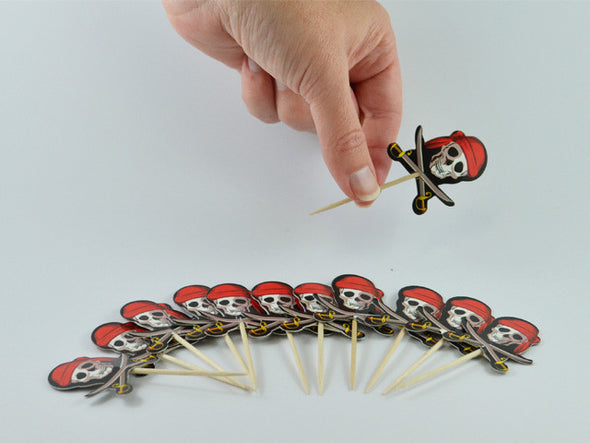 Toothpicks - Pirate Toothpicks - 12 Pack