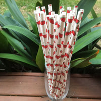 watermelon paper straws