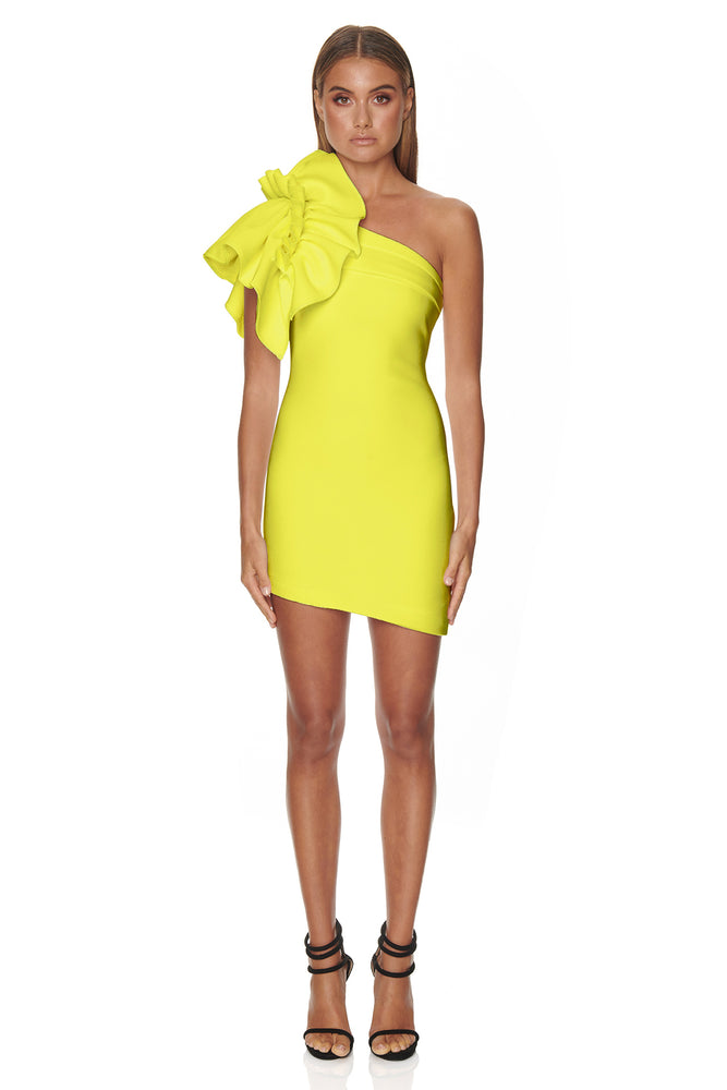 Valentina Dress | Lime