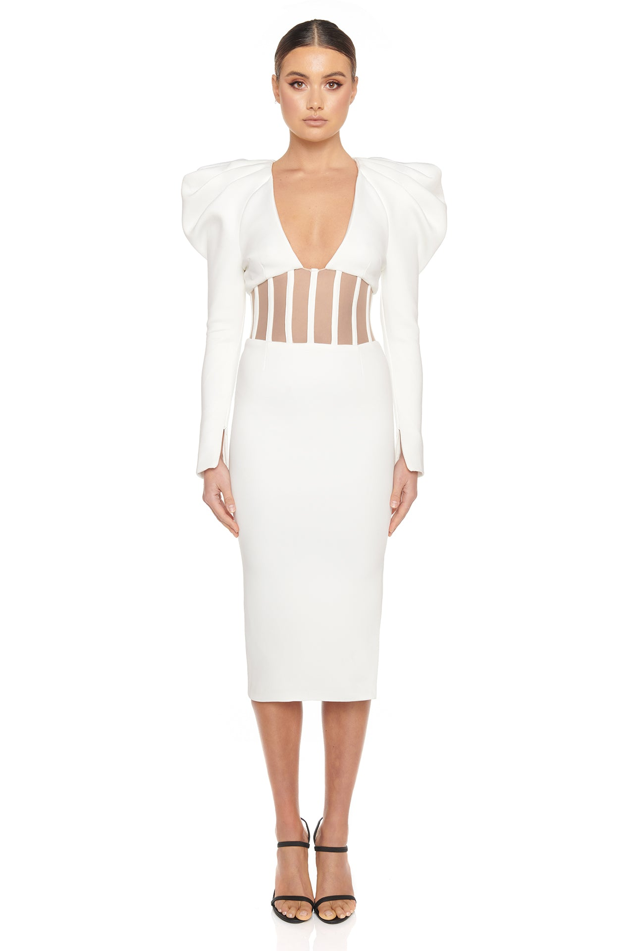 Sherene Dress | White