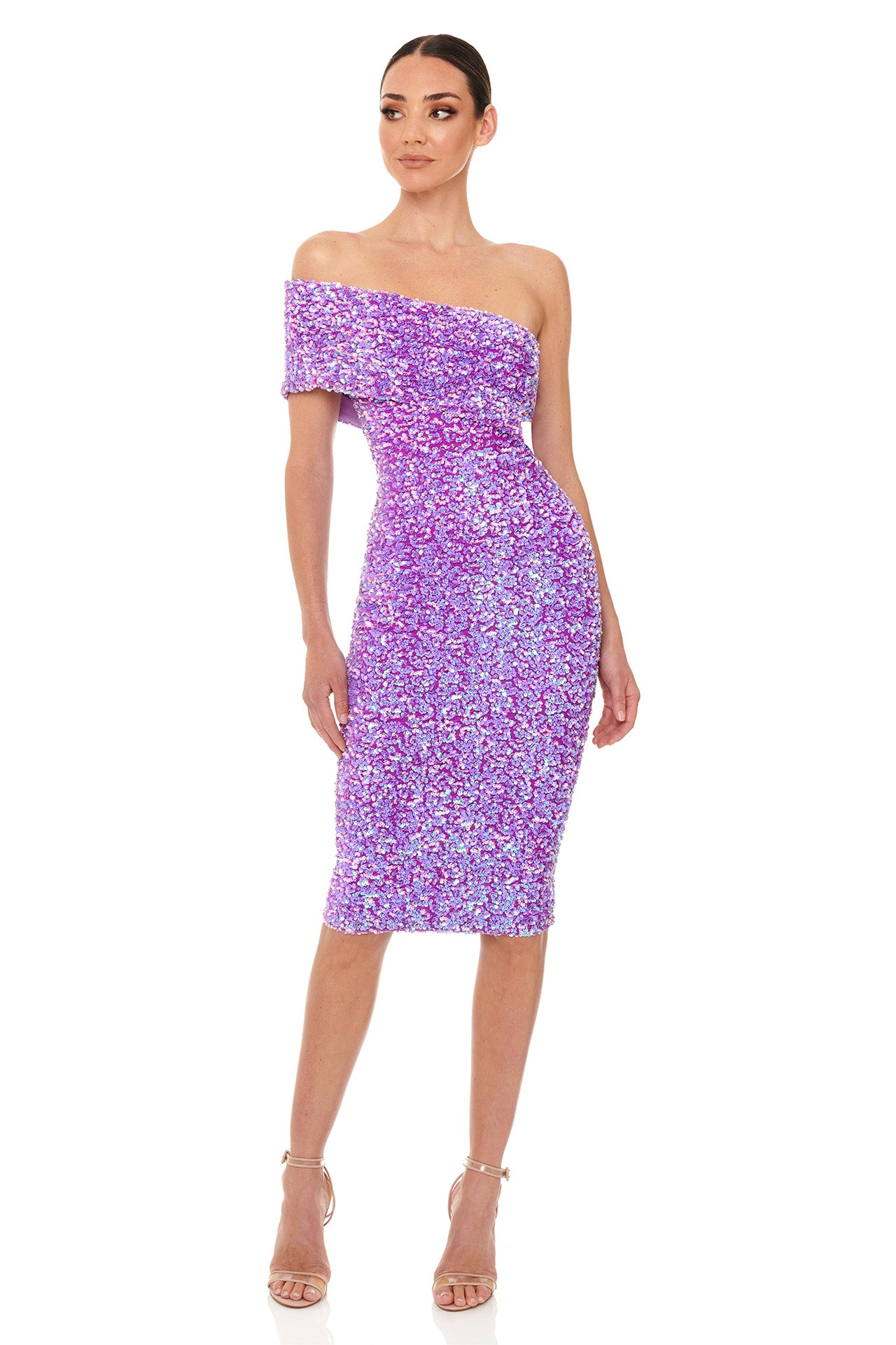 Alyssa Dress | Purple
