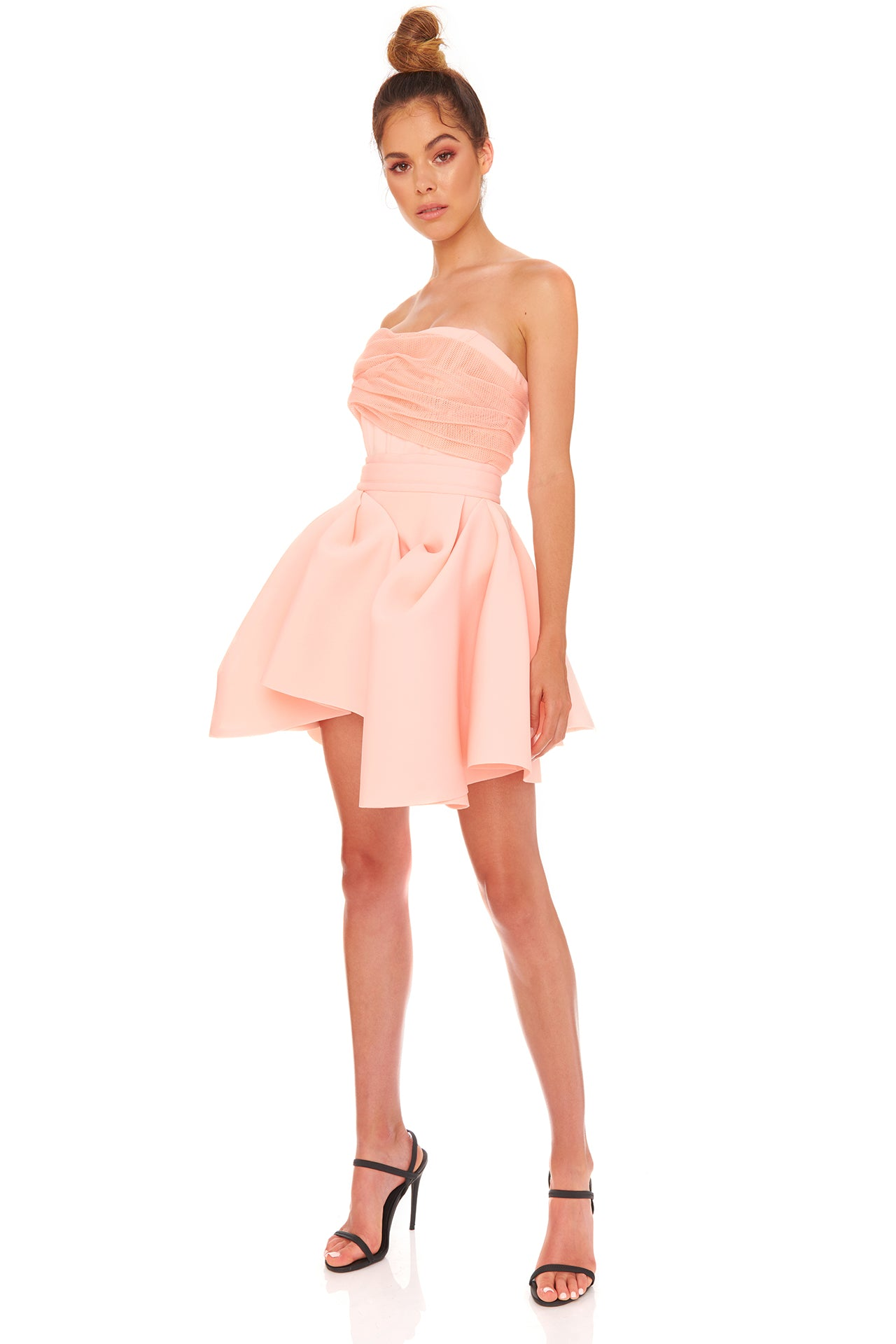 Tayla Dress | Peach