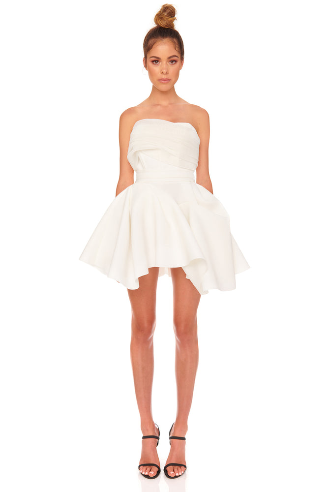 Tayla Dress | White