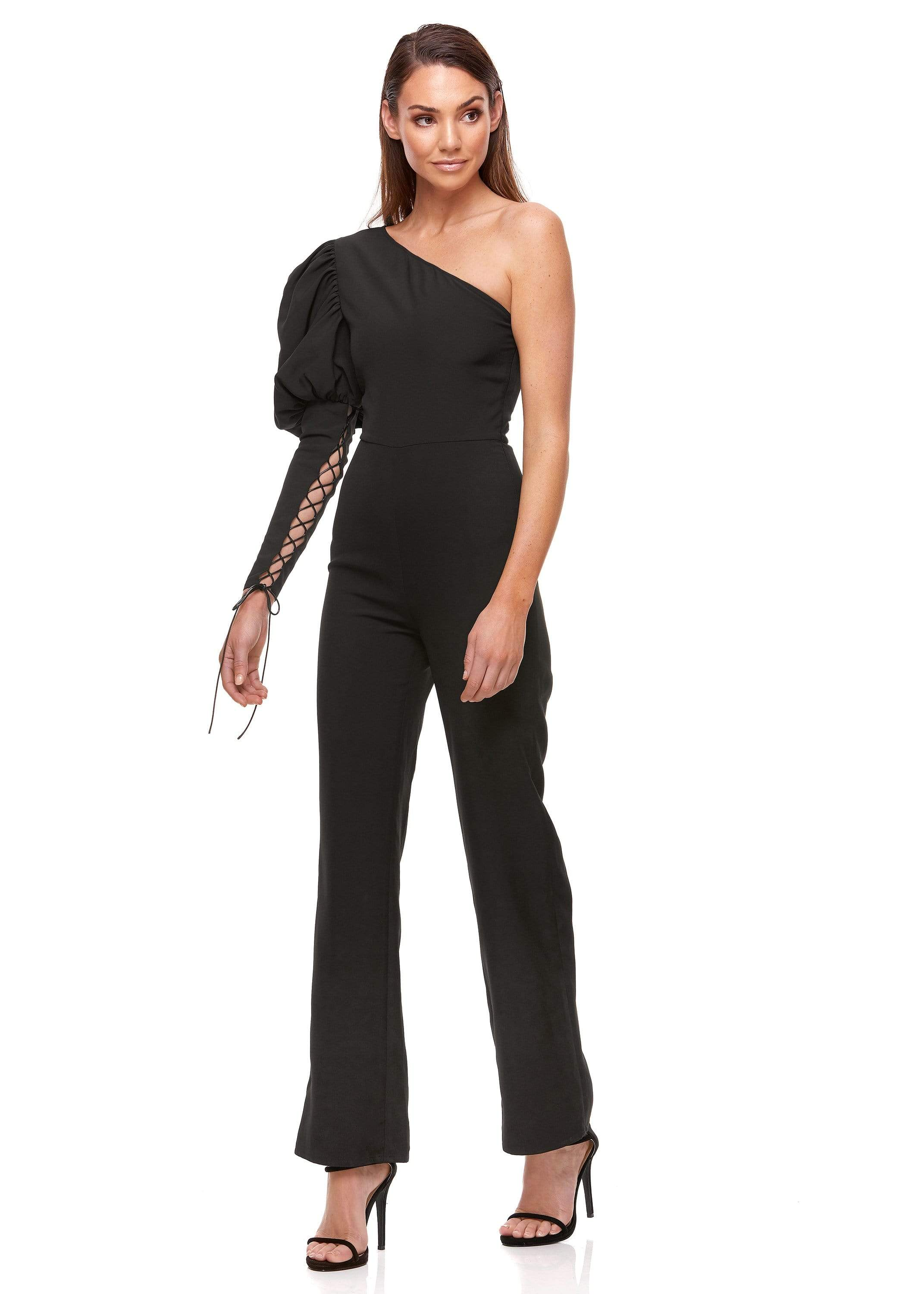 VIVIENNE PANTSUIT | BLACK - ELIYA THE LABEL