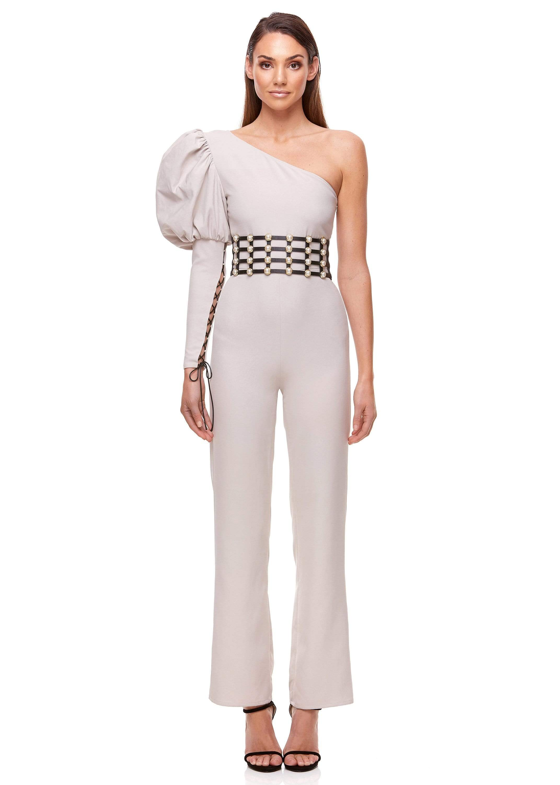 VIVIENNE PANTSUIT | NUDE - ELIYA THE LABEL
