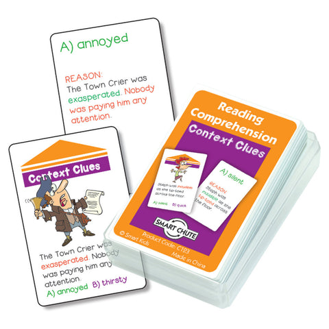 Context Clues Reading Comprehension Cards