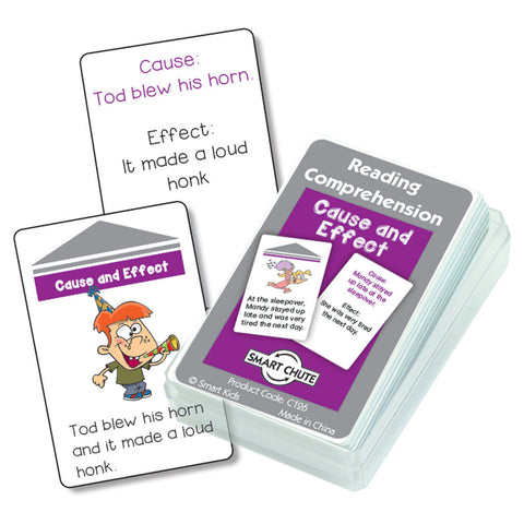 Cause and Effect Reading Comprehension Cards