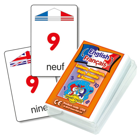 French Basics Chute Cards