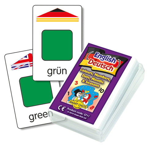 German Basics Chute Cards