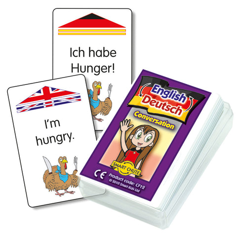 German Conversation Cards