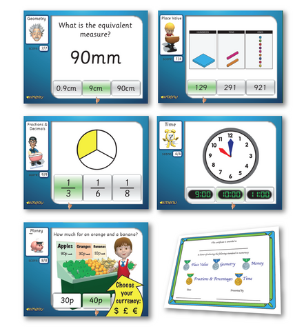 5 Maths Games Software Download