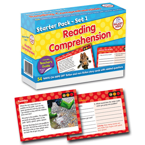 Reading Comprehension Pack 1