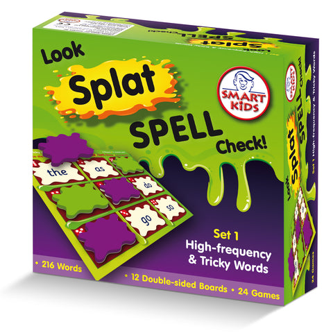 Look, Splat, Spell, Check Level 1