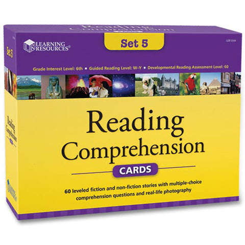 Reading Comprehension Set 5 (age 11+)