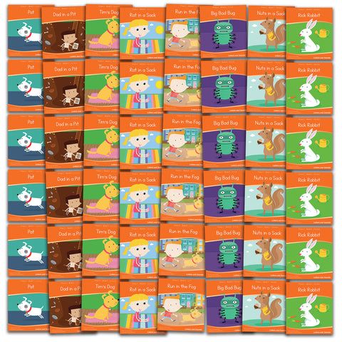 Phase 2 Decodable Readers x 6 Sets