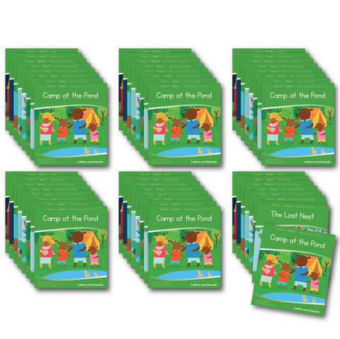 Phase 4 Decodable Readers x 6 Sets