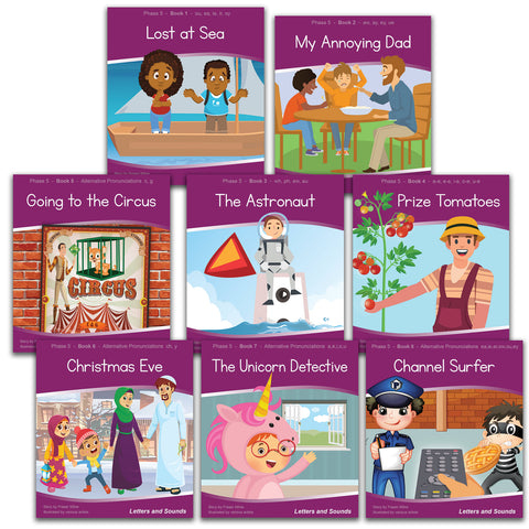 Phase 5 Decodable Readers - Guided Reading (48 books)