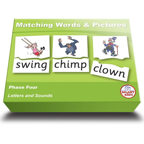 Matching Words & Pictures Phase Four