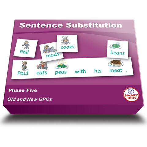 Sentence Substitution Phase Five Set 1