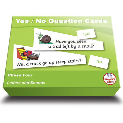 Yes / No Question Cards Phase 4