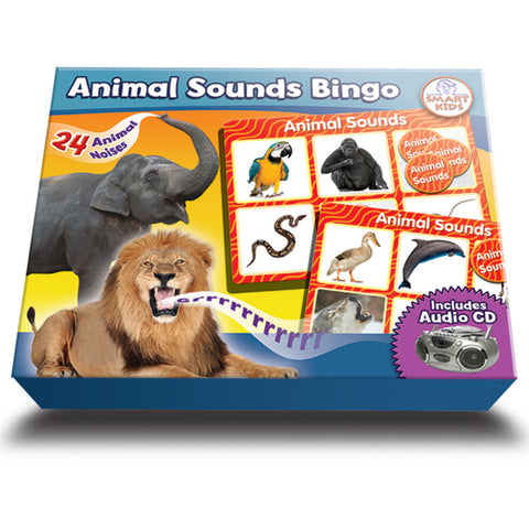 Animal Sounds Bingo