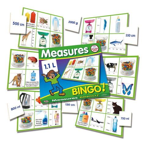 Measures Bingo