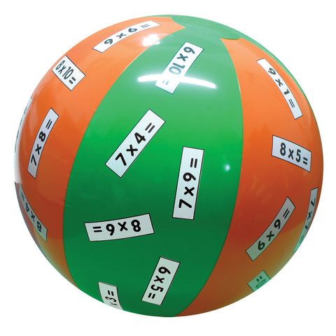 Multiplication x 6,7,8,9 Ball
