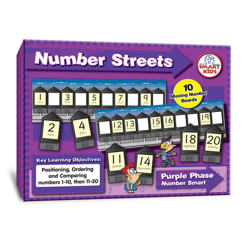 Number Streets to 20