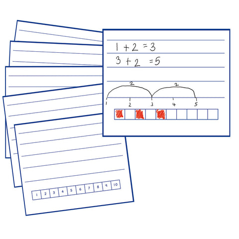 Write & Wipe Boards to 10 (6pk)