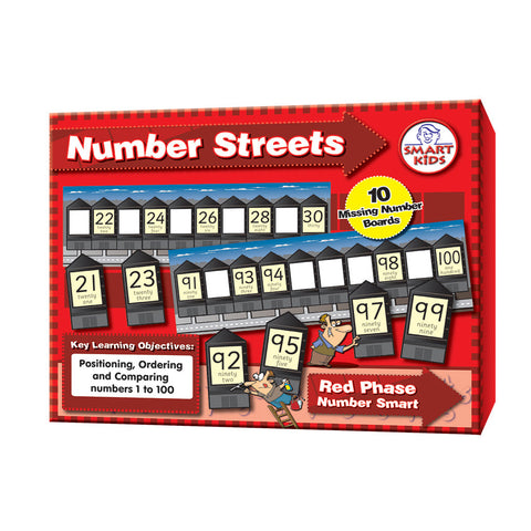 Number Streets to 100