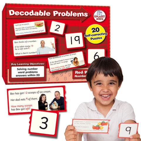 Decodable Word Problems to 20