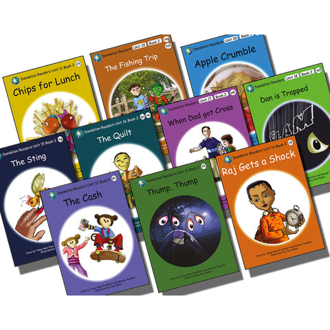 Dandelion Readers Book Pack Units 11-20 Series 2