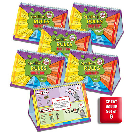 Spelling Rules Directory (6 Pack) SMART BUY!