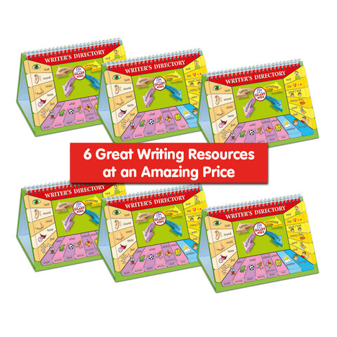 Writer's Directory (6 Pack) SMART BUY!