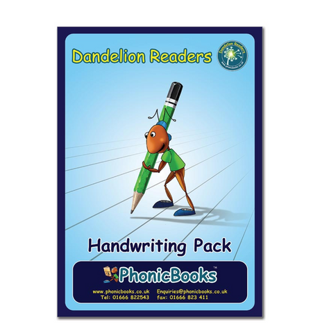 Dandelion Readers, Handwriting Pack for Units 1-7 and 16