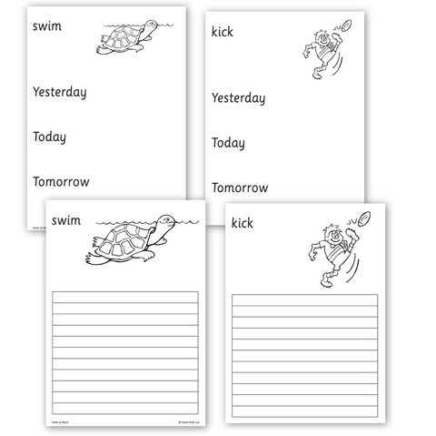 Verbs at Work - Worksheets Download