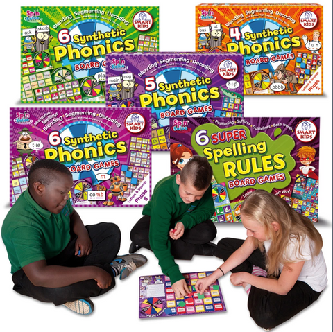 Letters and Sounds Board Games Smart Buy