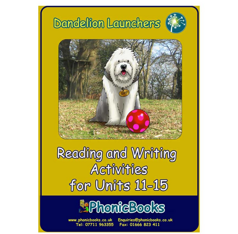 Dandelion Launchers Workbook Units 11-15