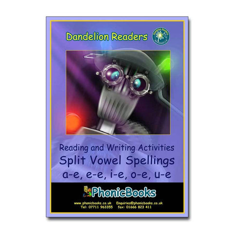 Split Vowel Spelling Workbook