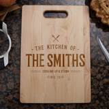 Kitchen Cooking Cutting Board - Maple
