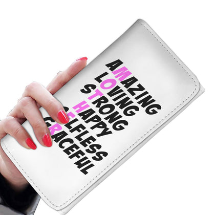 Mother Words Women's Wallet - Light