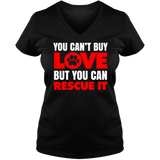You Can't Buy Love - Ladies V Neck Tee