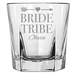 Bride Tribe (Personalized) - Rock Glass
