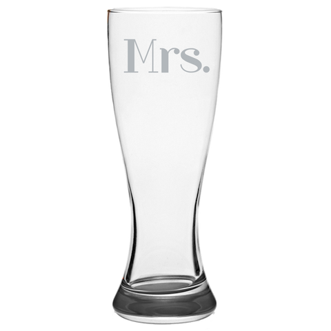Mrs. - Pilsner Glass