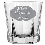 I'm On Cloud Wine - Rock Glass
