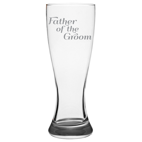 Father Of The Groom - Pilsner Glass