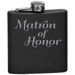 Matron Of Honor - Flask