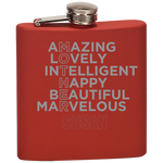 Mother Amazing Lovely Intelligent (Personalized) - Flask