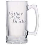 Father Of The Bride - Beer Mugs