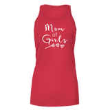 Mom Of Girls Dark - Bella Flowy Tank